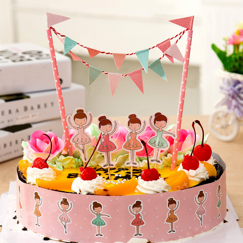 Pirate Birthday Cake Topper Birthday Party Decorations Kids