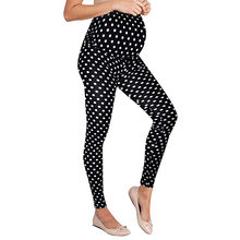 f86e6cdd5d9c50 Women's Maternity Leggings Seamless Dot Pants Stretch Pregnancy Trousers  for Pregnant Women Nursing Trousers summer Clothes