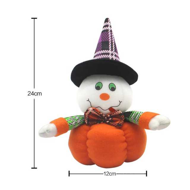 US $2 84 32% OFF|Halloween Cat Ghost Witch Dolls for Home Bar Decor  Halloween Cotton Desktop Ornaments for Kids Holiday Cartoon Doll Gifts-in  Party