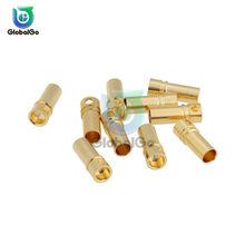 10pcs/Lot 3.5mm Banana Plug Connector Female Male Connector Plugs Adapter for ESC RC Motor Battery Diy Tool(China)