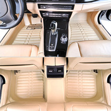 Myfmat custom foot leather rugs new car floor pads mat for PEUGEOT 3008 2008 4008 5008 308SW 307CC 206CC 307SW free shipping top