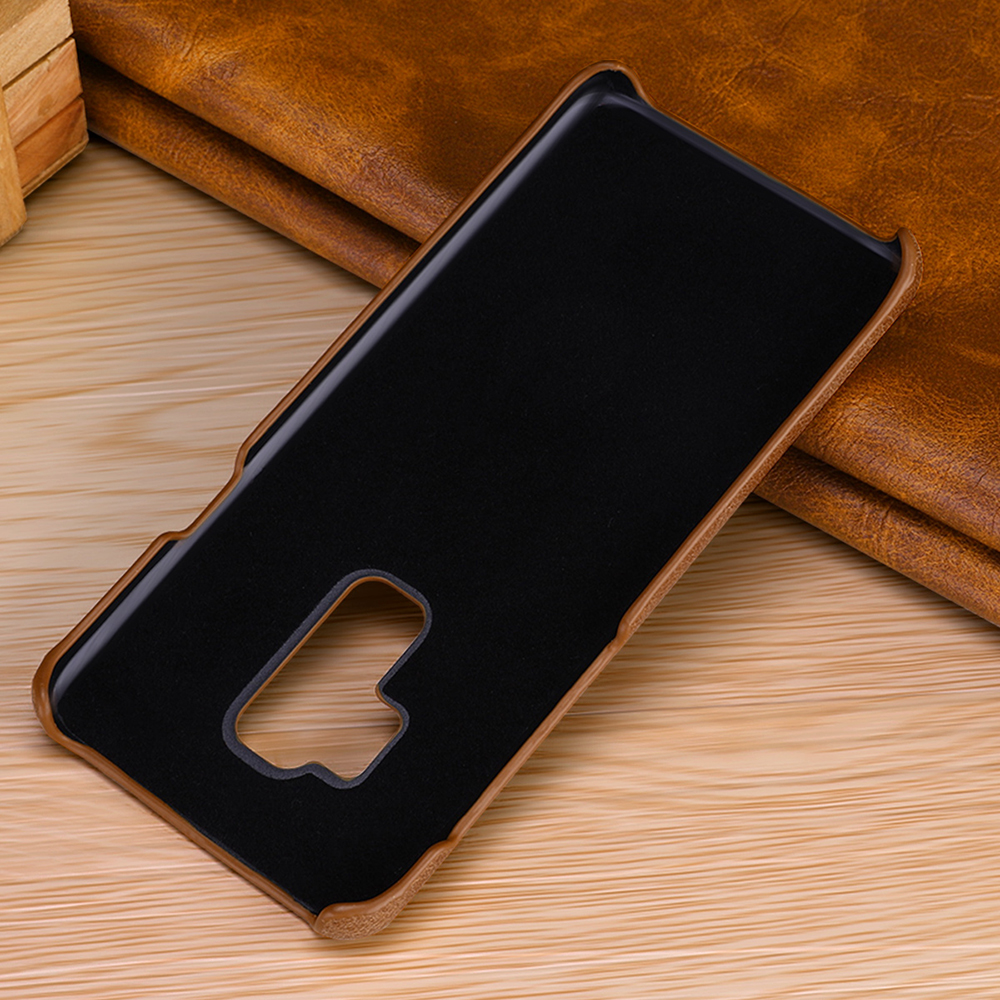 Image 3 - Genuine Leather Case For Samsung Galaxy S10 S9 S8 Plus S10e Slim Full Body Non Slip Resistant Cover Cases for Samsung Note 9 8-in Fitted Cases from Cellphones & Telecommunications