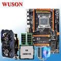 HUANAN ZHI deluxe X79 anakart paketi CPU Xeon E5 1650 V2 RAM 16G (2*8G) ekran kartı GTX960 2G