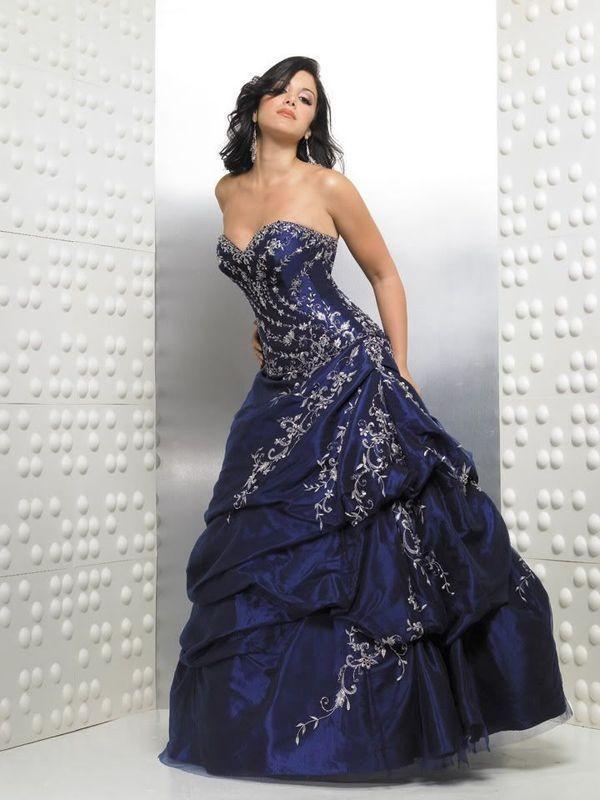 navy blue quinceanera dresses