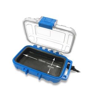 Image 4 - אוזניות עמיד למים מקרה זרוק התנגדות מגן תיבת מקרה נייד IEM באוזן צג מקרה תיבה