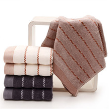 SBB 35x75cm 32 shares Whole cotton Jacquard weave face towel Strong absorbent soft simple solid Thicken Wholesale price
