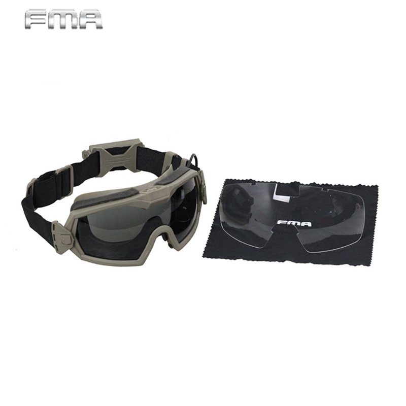 FMA Tactical Military Airsoft Paintball Combat LPG01BK12-2R Regulator Updated Version Goggle with Fan Keep Eyes Safe алексеев с т рой