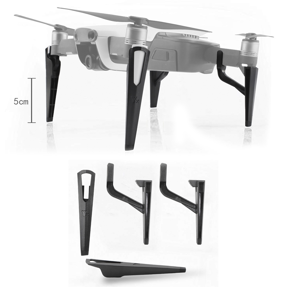 Landing Gear Kits For DJI Mavic Air Drone Extension 5CM Landing Legs Feet Heighten Protector Quick Release Stand Drone Accessory