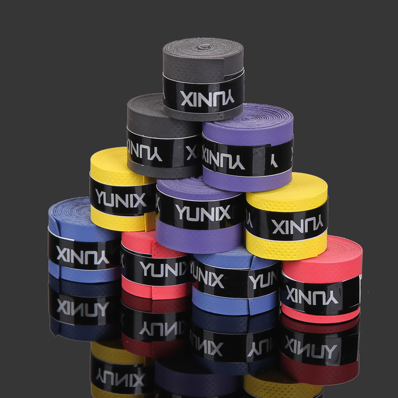 Anti-slip Breathable Sport 2pcs Over Grip Sweatband Tennis Overgrips Tape Badminton Racket Grips Accessories