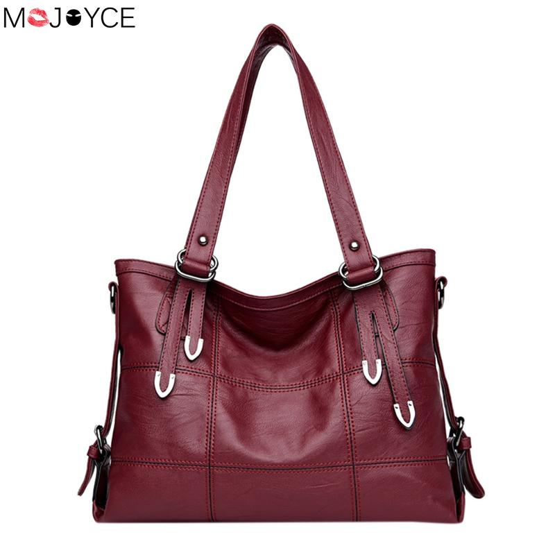Large Leather hand bag Women Handbags Ladies Crossbody Bags For Women Shoulder Bags Female Big Tote sac a main femme fantaisie kzni women leather handbags genuine leather women messenger bags female purses and handbags sac a main bolsa feminina 1441