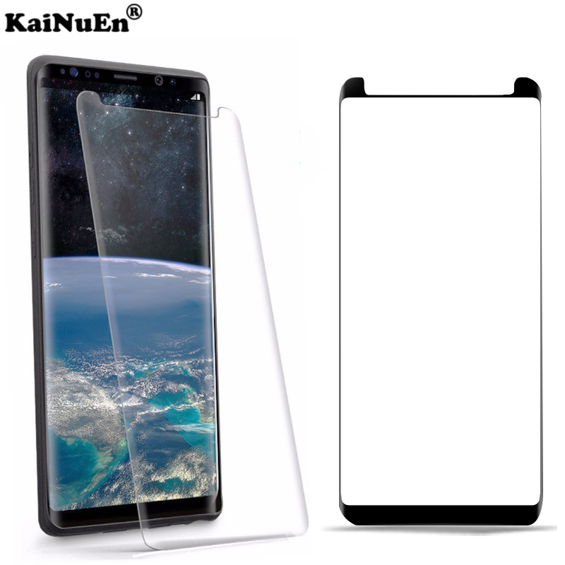 KaiNuEn 3d Curved Tempered Glass For Samsung Galaxy S9 Plus S 9 S9plus Front Anti Explosion Film Screen Proof Protective 9h 3 D