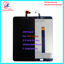 цена For Original Umi Super  LCD Screen Display+Touch Screen Digitizer Sensor Assembly Replacement 5.5
