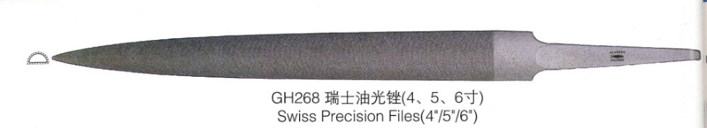 4'' Precision Files Set For Jewelry Goldsmith Working