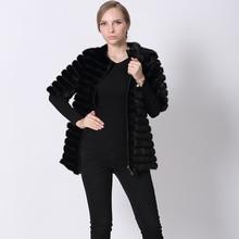 Genuine Mink Fur Coats Vests Half Sleeve Winter Female Zipper Jackets Warm O Neck Fashion Fur Women's Coat Vest Real Fur