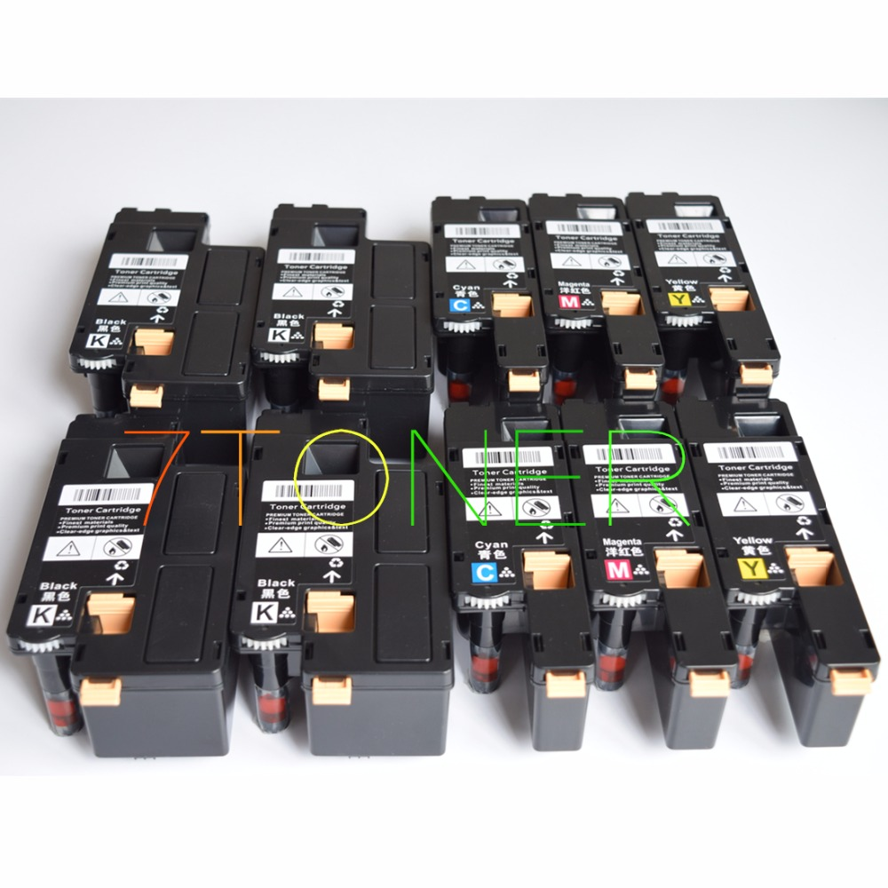 10 x Toner  For Xerox Phaser 6010 6000 Workcentre 6015  106R01631 ~ 106R01634