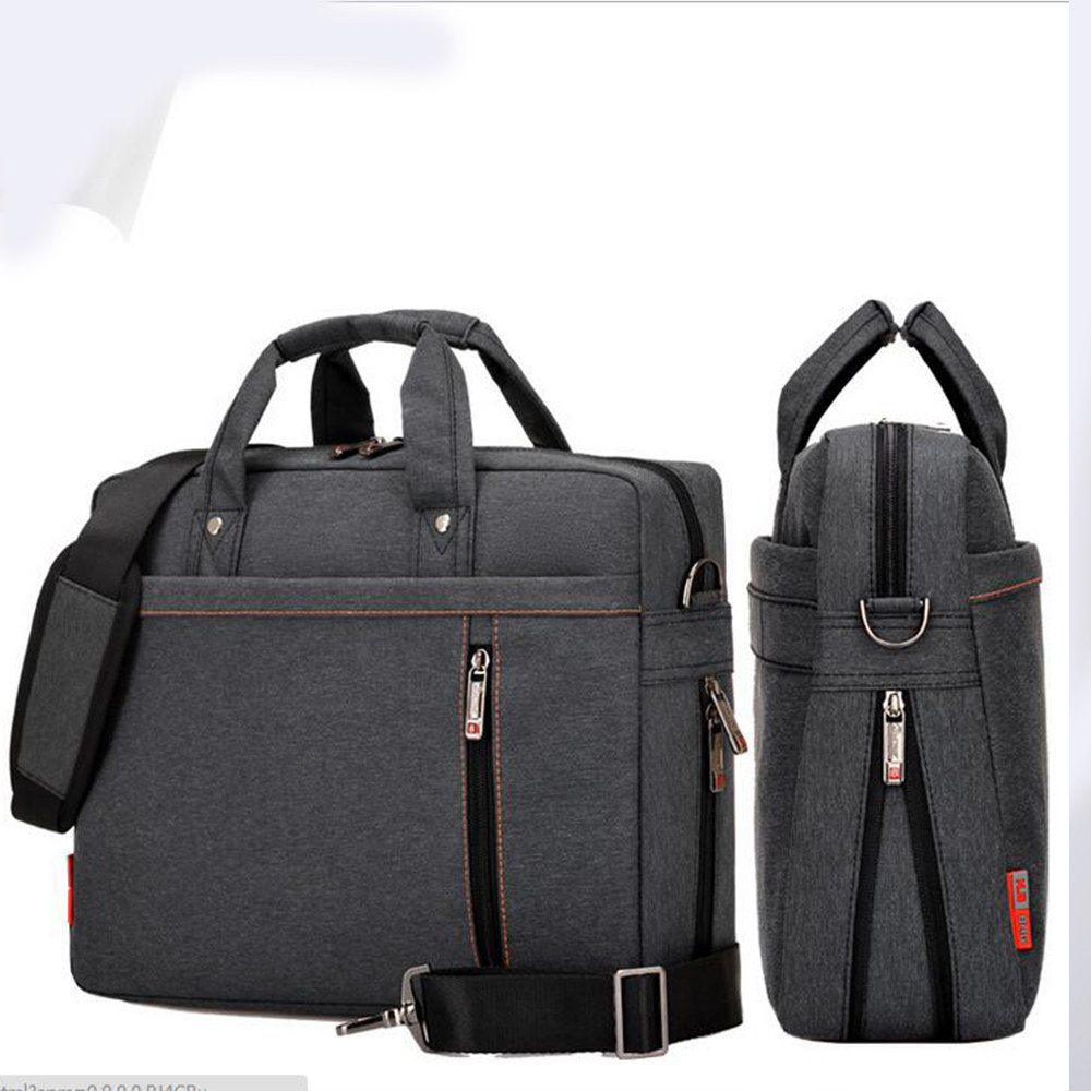 Shockproof airbag waterproof Laptop bag 17 15 14 13 inch big size computer bag bags Case Messenger Shoulder unisex men women 13 14 15 17inch big size nylon computer laptop solid notebook tablet bag bags case messenger shoulder unisex men women durable