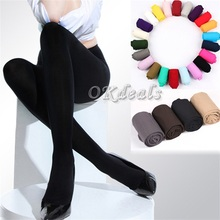 1PC Sexy Beauty Women Girl Spring Autumn Opaque Footed Tights Sexy Pantyhose Leg Warmers Summer