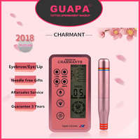 New Version Charmant Permanent Makeup Machine For Eyebrow Tattoo Lip Eyeliner Microblading MTS Pen Set Eye