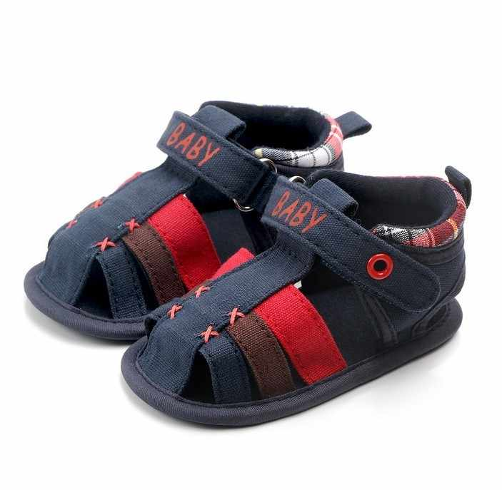 ARLONEET 2019 Summer Baby Cartoon Wear-Resistant Breathable Soft Bottom Cotton Baby Sandals baby boy sandals sandalia infantil
