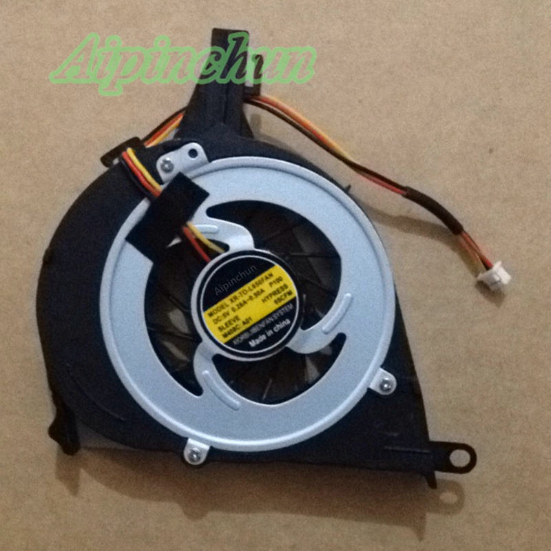 Aipinchun New CPU Cooling Fan For Toshiba Satellite L650 L650D L655 L655D L750 l755 Cooler Radiators Laptop Fan 2200rpm cpu quiet fan cooler cooling heatsink for intel lga775 1155 amd am2 3 l059 new hot