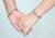 Mprainbow Pareja Pulseras Magnéticas de Acero Inoxidable Amor para Él y Su Conjunto A Juego de Cuidado de La Salud Anti-fatiga Regalo de Joyería de Moda