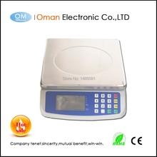 Oman-T580A цифровой коммерческий кухонные весы с фигурой цена функция 30 кг