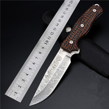 2016 Navajas Outdoor Field With High Hardness Small Straight Knife For Wilderness Survival The Folding Fruit Diving Cutter