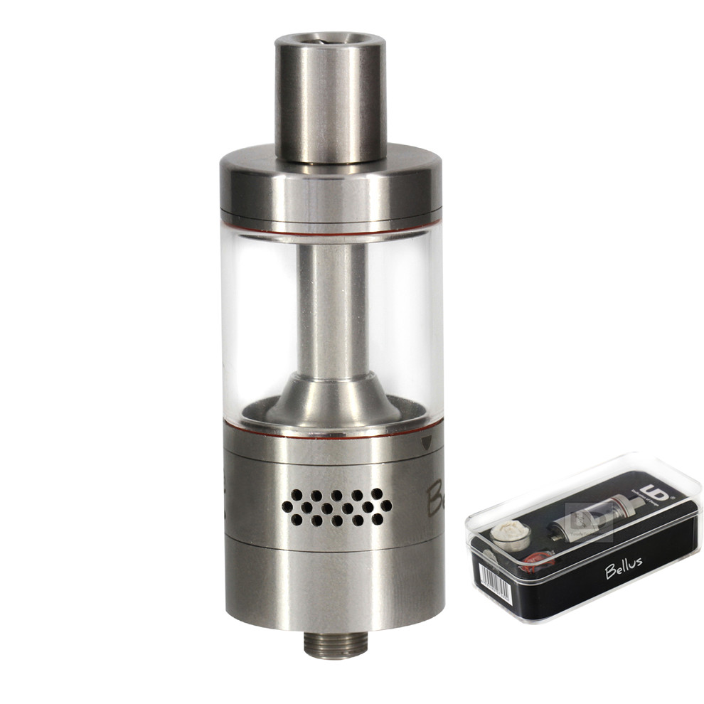 Original UD Bellus RTA Tank 5ml e-juice capacity top filling Ohm side air holes direct blow coils Atomizer fit 510 Thread mod