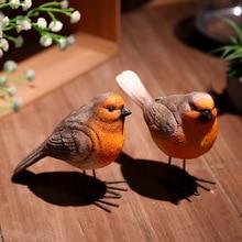 Garden resin crafts ornaments simulation bird garden animal decorations wine cabinet TV Acacia furnishings
