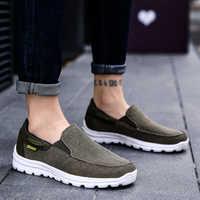 2019 zapatos de lona para hombre, zapatos casuales para hombre, zapatos transpirables para hombre, calzado de primavera y otoño, zapatillas para hombre, talla grande 47 48