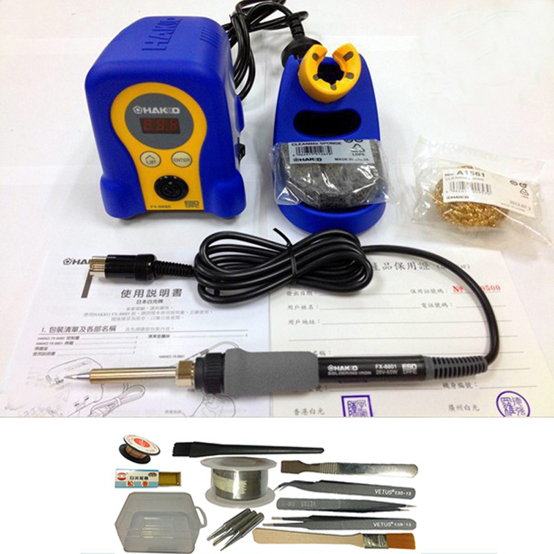 buy fx 888d 70w 110v 220v hakko solder soldering iron station with digital. Black Bedroom Furniture Sets. Home Design Ideas