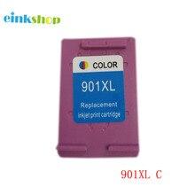 For HP 901 901xl Tri-color Ink Cartridge Officejet 4500 J4500 J4524 J4530 J4540 J4550 J4580 J4585 J4640 J4660 J4680