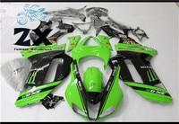 Complete Fairings Motorcycle ABS Injection Bodywork Fairing for Kawasaki ZX 6R 20072008 body kits ninja 636 ZX 6R 07 08 ZX 03