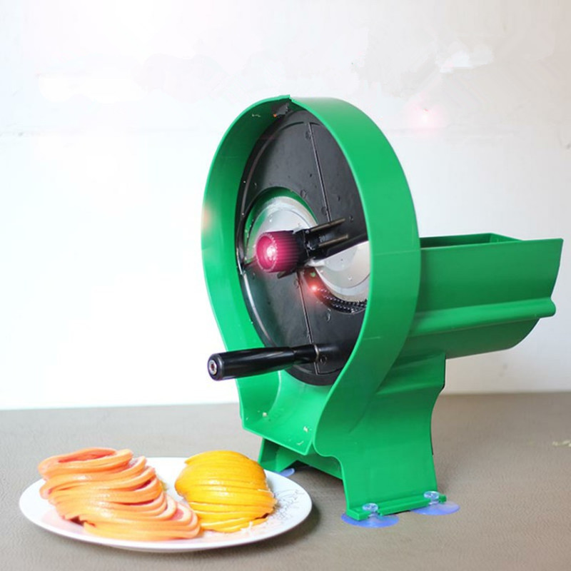 Commercial Lemon Food Slicer Multifunctional Manual Fruit Vegetable Flaker Potato Grapefruit Lemon Chipping Machine popular manual fruit and vegetable slicer for lemon pineapple orange potato onion cucumber tomato slicing machine tool