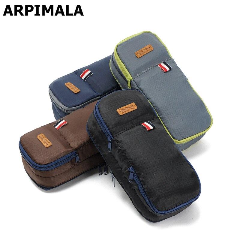 ARPIMALA Travel Cosmetic Bags Organizer High Quality Makeup Bags For Women Make Up Case Men Toiletry Bag Necessaries Wash Bag