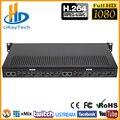 8 En 1 HDMI H.264 IP Video Encoder IPTV 8 canales EN DIRECTO codificador Streaming HD codificadores H264 con UDP su RTMP RTSP HTTP ONVIF