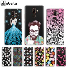 Phone Case For Nokia 8 Sirocco Nokia 9 8 7 Case Silicone Back Cover For Nokia C1 Clear Painted Cases Nokia9 Nokia8 Nokia7 Shell(China)