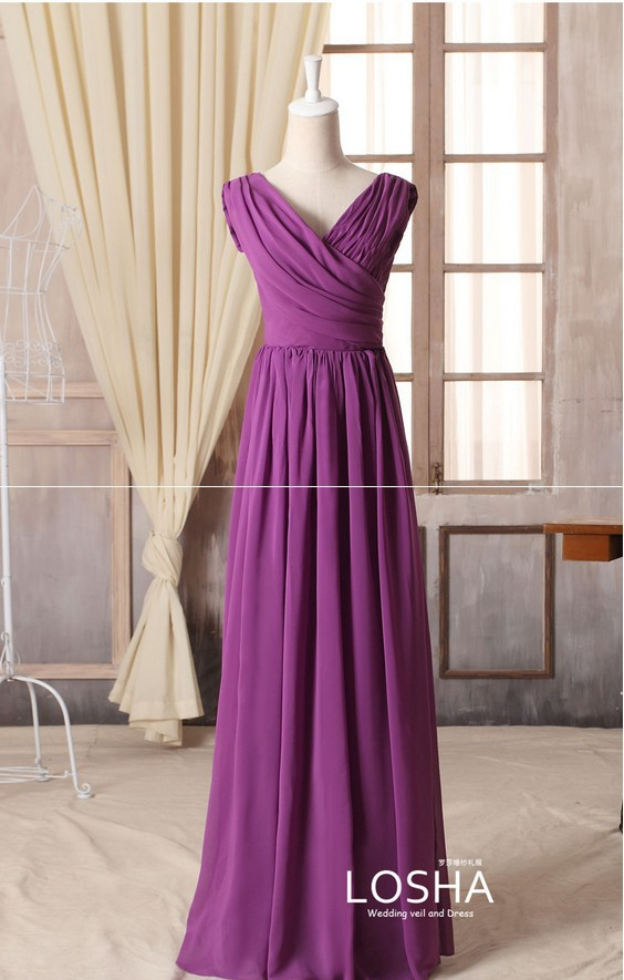 Customized Size Color Purple Violets Bridesmaid Dresses group Free shipping  Different styles popular 2015 new arrival 02-in Bridesmaid Dresses from  Weddings ... 03c5125bb3dd