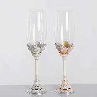 True Love wedding Champagne glass Champagne flutes Wine glass Toasting flutes Wedding favor decorations gift box
