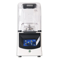 ITOP Commercial 1.5L Smoothies Blender Ice Maker With Sound Cover Professional Blender Ice Crusher Juicers Japan Blade