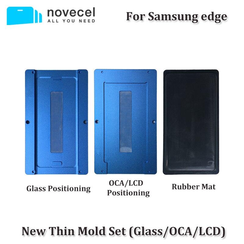 3 pcs/ensemble OCA/LCD/Verre Alignement Positionnement et Stratification Moule Vide Plastifieuse Universel Moules Pour Samsung S6/ s7 bord S8 S8 +