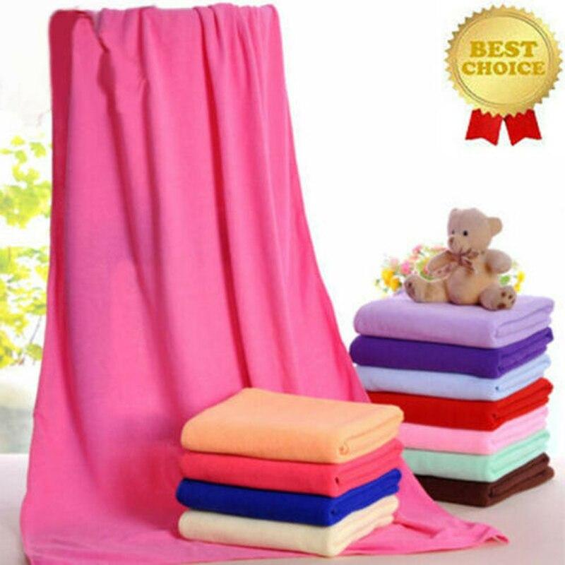 Мягкое пляжное полотенце из микрофибры, 13 цветов, 140x70 см, светильник для ванны, большие спортивные аксессуары для путешествий