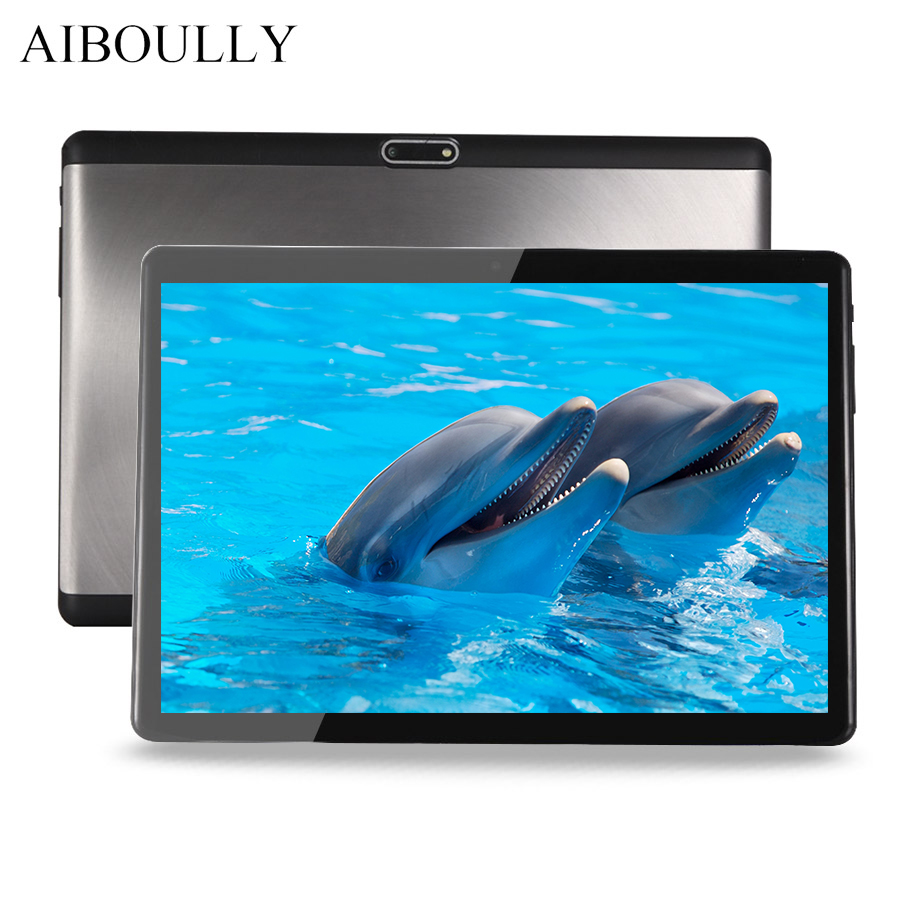 AIBOULLY Original Android Tablet 10.1 inch 4G LTE 3G Phone Call Tablets Android 7 Octa Core WiFi FM A-GPS 1280*800 1920*1200 Tab lnmbbs 8 inch internet phone call android 7 0 tablets sims 4g 8 core lte 1280 800ips 4 32g wifi gps mobile phone call tablets