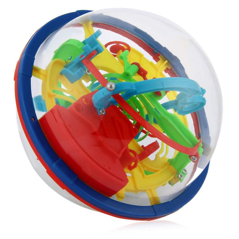 YKLWorld Najnovije Zabava 3D Maze Ball Intelekt Magic Ball Djeca Kid - Igre i zagonetke - Foto 2