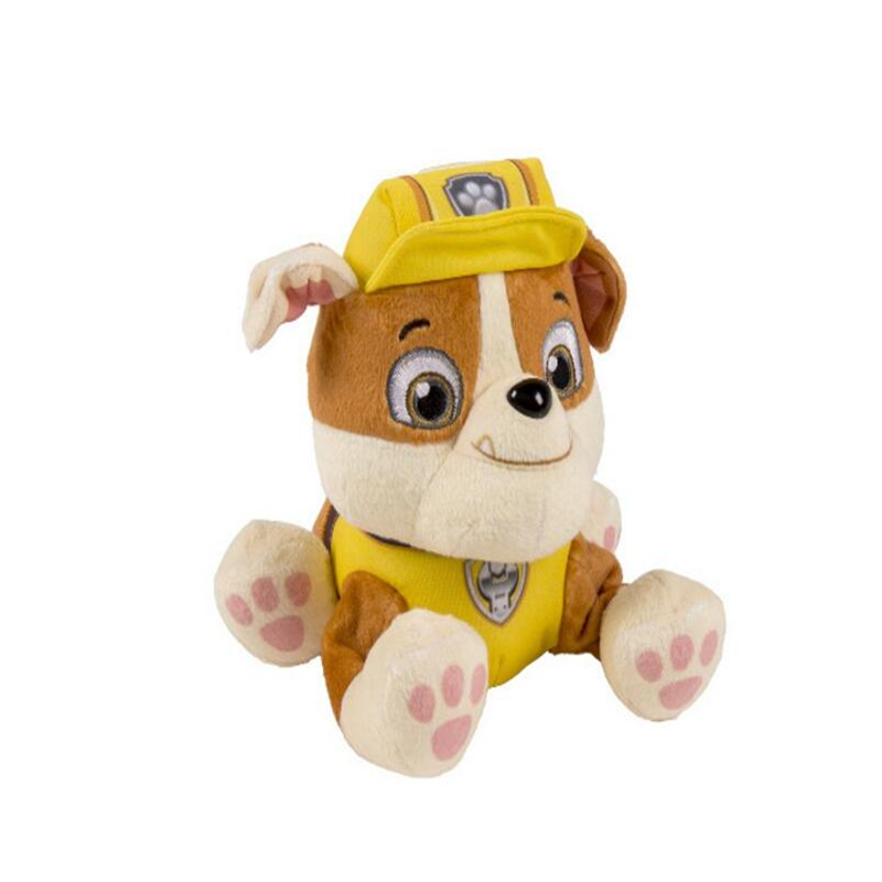 High quality Bulldog Rubble Toy doll dog Plush toys for baby 20cm Soft bauble birthday present&children's gift super cute plush toy dog doll as a christmas gift for children s home decoration 20