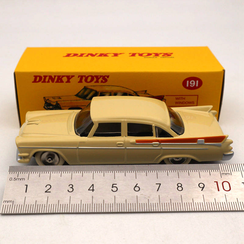 DeAgostini 1/43 Dinky Toys 191 Dodge Royal Seden Diecast Models Limited Edition Collection