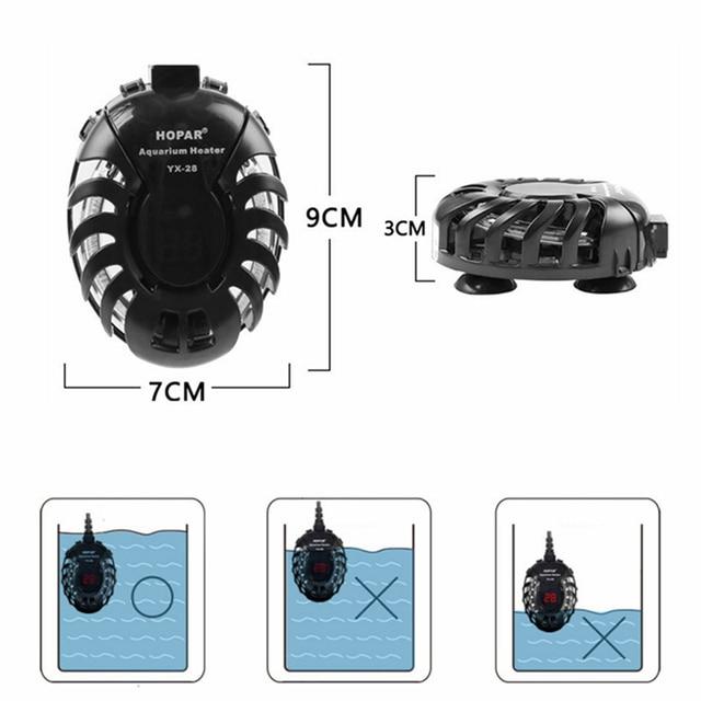 Aquarium Heater Water Electric Heating Rods 4