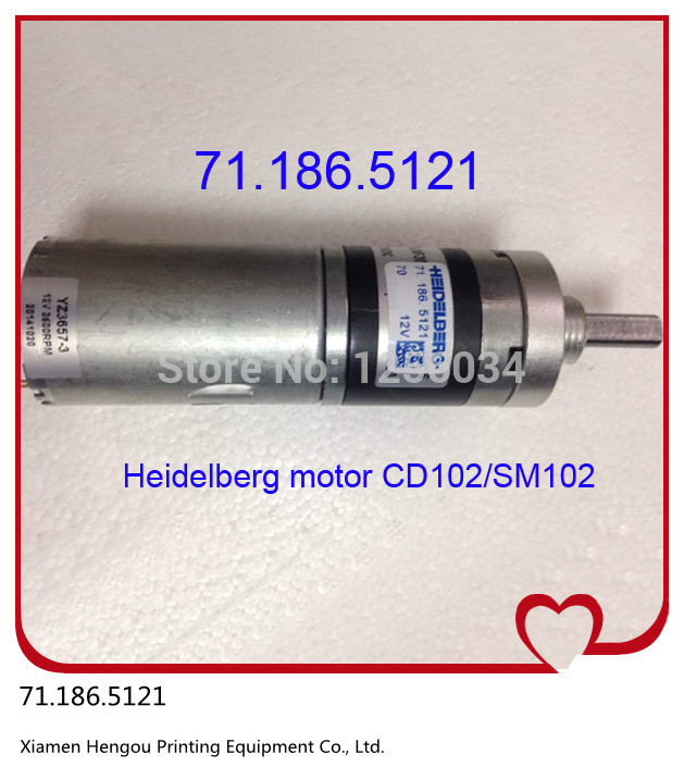 1 piece DHL/EMS free shipping Heidelberg-102 motor 71.186.5121 lem htr200 sb sp1 used in good condition with free dhl ems