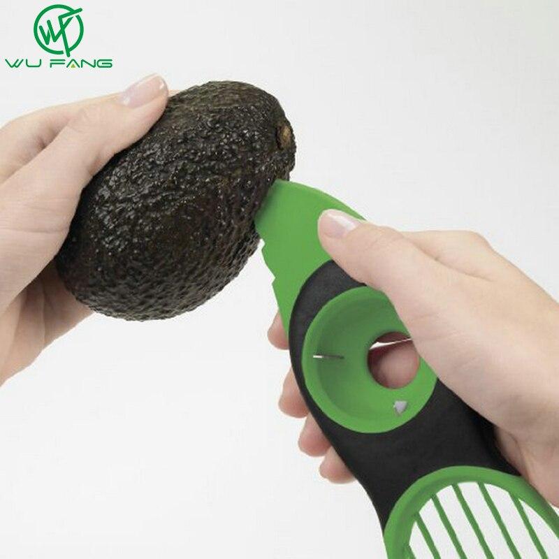 3-en-1 Aguacate Slicer Cortador de la Fruta de múltiples funciones Cuchillo Core