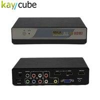Alle Naar HDMI Converter VGA/HDMI/RCA/Ypbpr Naar HDMI Converter Scaler Tot 4 k x 2 k Ondersteund Multifunctionele 4 K Hd Converter